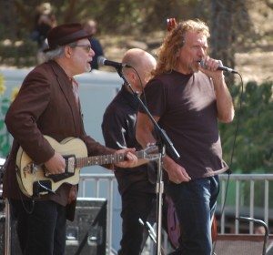 Buddy Miller and Robert Plant
