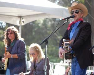 Dave Alvin, Nina Gerber and Cindy Cashdollar